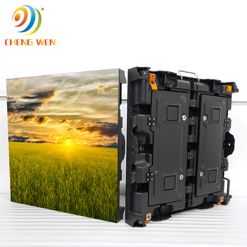 Outdoor P8 led screen display with 768*768mm rental panels
