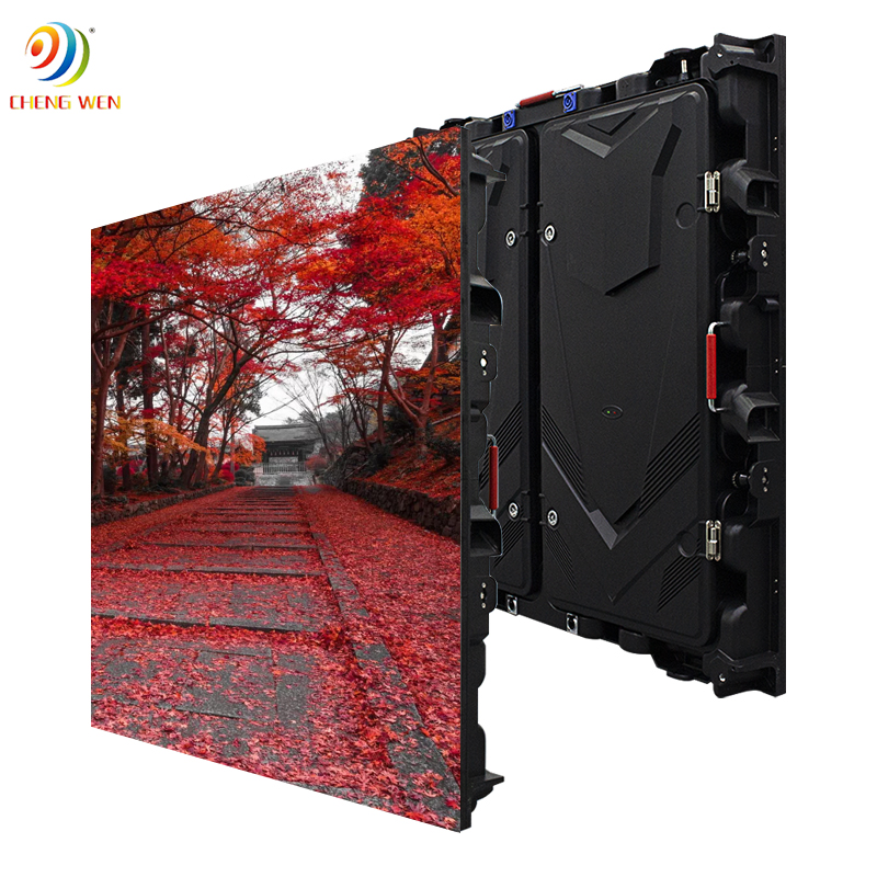 Outdoor P10 960*960mm led screen display with rental panels
